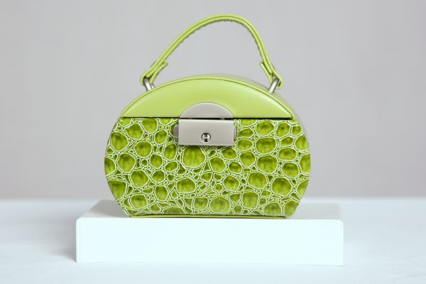Green Jewelry Case