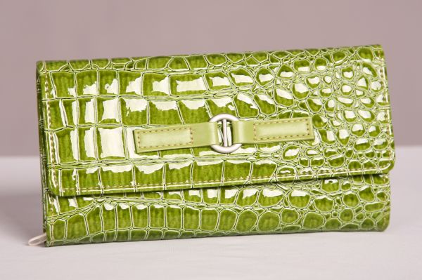 Green Jewelry Travel Wallet