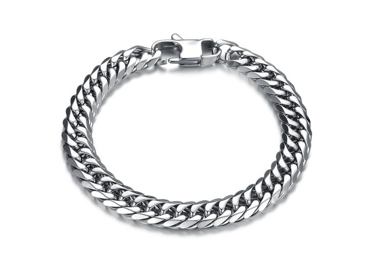 Chunky Stainless Steel Chain Bracelet