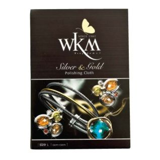 WKM Silver and Gold Polishing Cloth (Large)