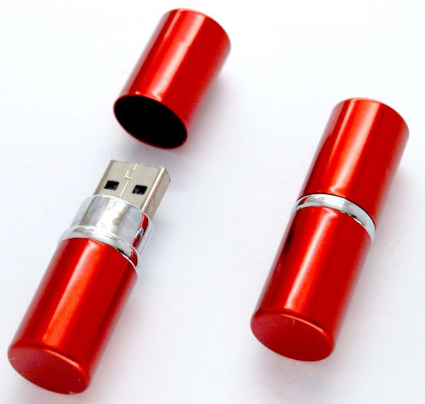 4GB Red Lipstick USB