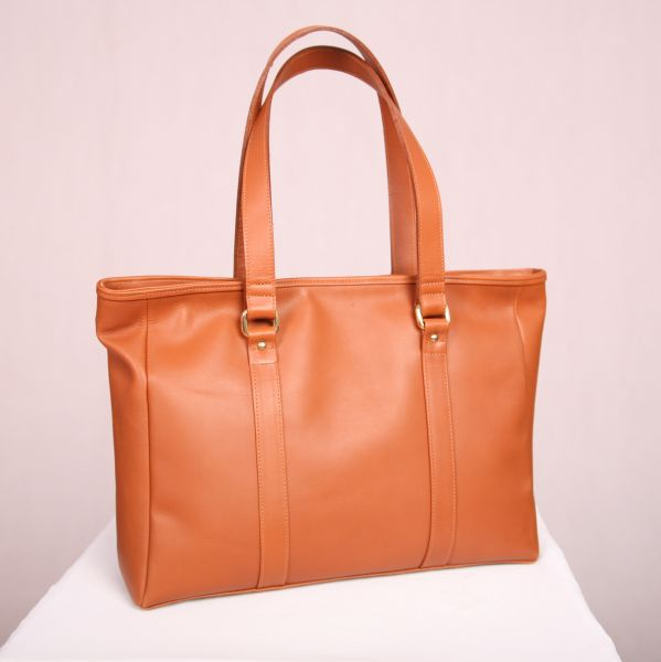 Tan Premium Leather Tote