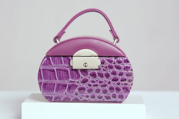 Purple Jewelry Case