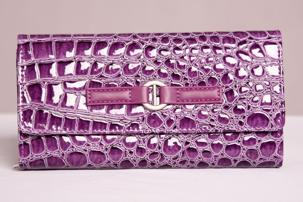 Purple Jewelry Travel Wallet